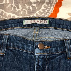 JBrand straight leg jeans